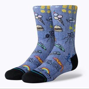 Stance Doodle Dance Crew Socks